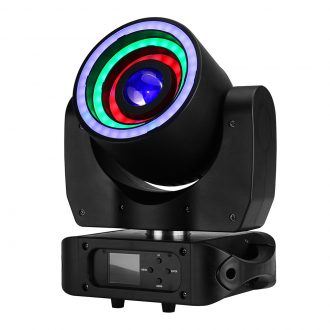 IM-MHN40 RGBW 4in1 LED Crazy Beam Wash Moving Head Light