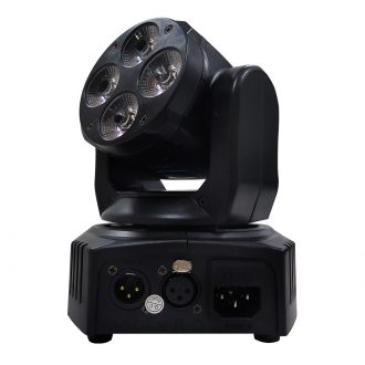 4*10W RGBW 4in1 LED Wash Moving Head Light