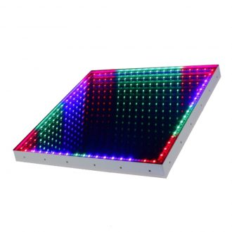 IM-DF30 50CM*50CM 3D Time Tunnel RGB LED Light Dance Floor Wedding DJ Disco Nightclub Light